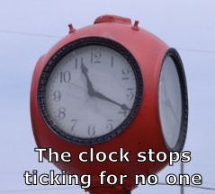 Time stops for no one.  Ensure your Will is kept up to date.